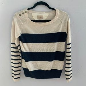 Aritzia Wilfred Free Striped Starboard Sweater S